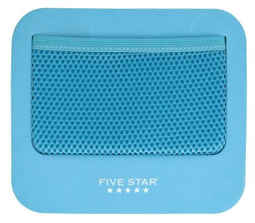 Five Star 72552 Spind-Zubehör, Aufbewahrungstasche, magnetisch, 19 x 15 cm, Blaugrün