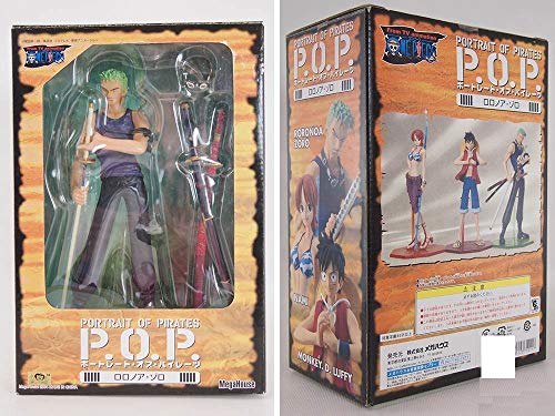 One Piece: Portrait of Pirates P.O.P Roronoa Zoro Action Figure