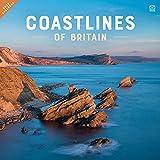 Coastline of Britain Square Wall Calendar 2022
