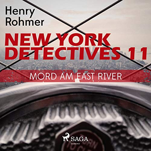 Mord am East River audiobook cover art