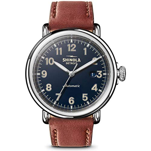 Shinola The Runwell Automatic Movement Blue Dial Men's Watch S0120141492