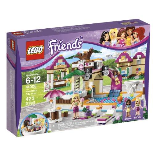 LEGO Friends La Piscina Municipal de Heartlake City - Juegos de construcción (Multicolor, 6 año(s), 423 Pieza(s), 12 año(s), 350 mm, 80 mm)