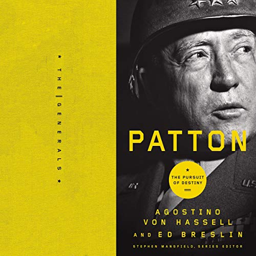 Patton audiobook cover art