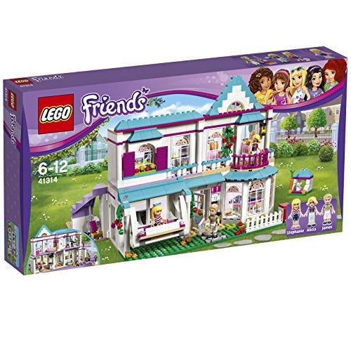 LEGO- Casa de Stephanie Heartlake Juego de construcción, Multicolor (41314)