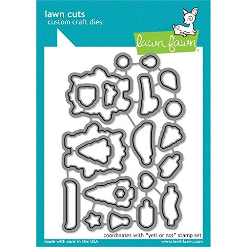 Lawn Cuts Custom Craft Die-Yeti Or Not