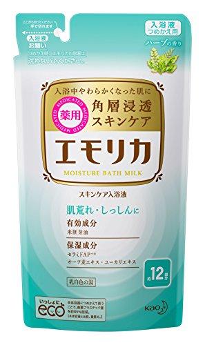 エモリカ 薬用スキンケア入浴液 ハーブの香り 360ml 詰め替え用