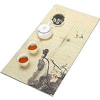 高品質の竹製テーブルランナー、健康的で安全な、飾るダイニングテーブル、ティーテーブル、カフェ、ホテルのレセプションのためのセーフティ (Size : 15×40CM)