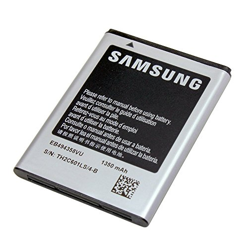 Original Akku Samsung Modell EB-494358VU - Li-Ion Lithium Akku Mit 1350 mAh Kapazität Schnellladung 2.0 Kompatibel Mit Samsung Galaxy ACE (S5830) - Ohne Box