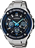 Casio G-Shock S-Steel Series 6 Multi Bands Solar Watch GST-W100D-1A2JF Mens