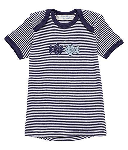 Sense Organic T-Shirt à Manches Courtes pour bébé - Bleu - 24 Mois