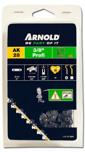 Arnold Sägekette 3/8 Zoll Profi, 1.5 mm, 56 Treibglieder, 38 cm Schwert 1191-X3-5856