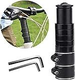 DESON Elevador Manillar Bicicletas, Universal Extensor para Manillar de Bicicleta, con Dos Llaves Hexagonales Pequeñas