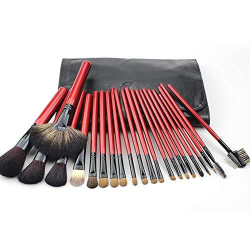 Brosses De Maquillage Professionnel 22 Pièces Pour Outils De Beauté Maquillage Studio Photo De L'artiste Avec Le Sac De Brosse Portable