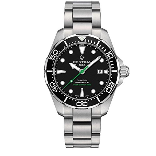 Certina DS Action Diver Powermatic 80 Herren-Armbanduhr C032.407.11.051.02