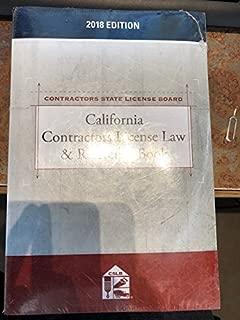 California Contractors License Law & Reference Book