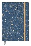 Kalenderbuch Campus Sternenhimmel - Kalender 2020 - Oktober 2019 bis März 2021 - Korsch-Verlag - Taschenkalender A5 mit Lesebändchen und Verschlußgummi - 18-Monats-Kalender - 13 cm x 18,5 cm