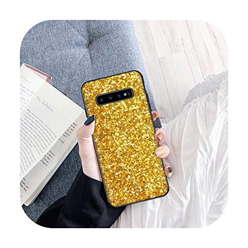 Brillante caja de teléfono exquisito para Samsung S6 S6 Edge S7 S7 Edge S8 Plus S9 Plus S10E S10 Lite S10 Plus Funda suave TPU Back-B11-para Samsung S9