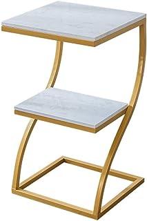WALNUTA Simple Canapé d'angle côté Plusieurs Place Bed Table Moderne Chambre Petit café Table Double