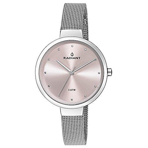 Radiant new North Star Reloj para Mujer Analógico de Cuarzo con Brazalete de Acero Inoxidable RA416201