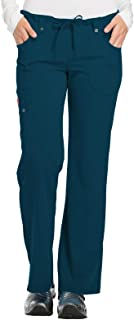 Dickies Women's Xtreme Stretch Mid Rise Drawstring Cargo Pant