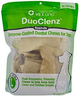 VetOne DuoClenz Enzyme Coated Dental Chews Large (30 count) by Vet One