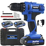 <span class='highlight'><span class='highlight'>ZanGe</span></span> Heavy Duty Cordless Combi Drill Driver Electric Screwdriver Complete 21V Variable Speed 2 Li-ion Rechargeable Battery Bits 45 N.m Fast Charger LED Work Light