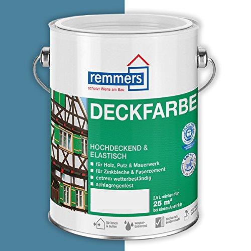 Remmers Deckfarbe (750 ml, friesenblau)