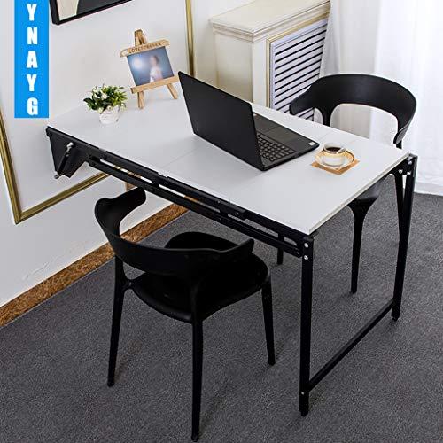 YNAYG Wand-Klapptisch Wooden-Life Wandtisch, ausklappbarer Schreibtisch, multifunktionaler Wandcomputer-Schreibtisch, Küche, Essbereich, Schreibtisch für zu Hause, Cabrio-Spind