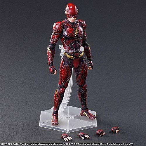 CFTGB Liga de Justicia The Flash Anime Acción Figura 25 cm Modelo de colección Carácter Estatua Juguetes