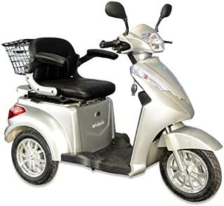 E-Wheels EW-38 3-Wheel 700W High Power Electric Mobility Scooter, Silver