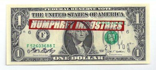 Untitled (dollar bill)