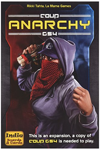 Indie Board & Card Games IBG0CO04 Brettspiel Coup Rebellion G54: Anarchy Expansion