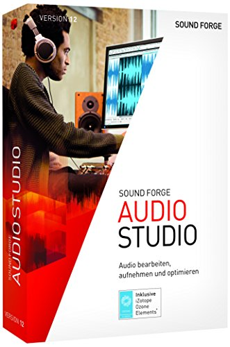 SOUND FORGE Audio Studio 12 1 Device Perpetual License PC Disc Disc