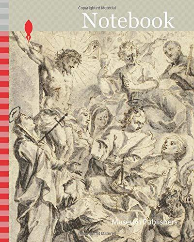 [画像:Notebook: Dying Man Being Consoled by Christ on the Cross, Virgin and Saints, n.d., Gottfried Bernhard Goetz, German, 1708-1774, Germany, Pen and brown ink, with brush and gray and black wash]