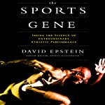 The Sports Gene audiobook cover art