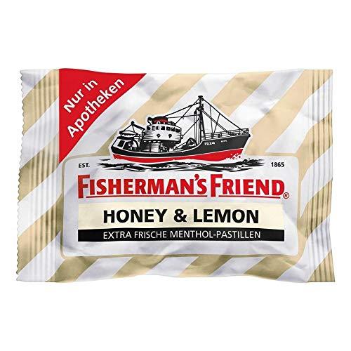 Fishermans Friend Honey & Lemon Ohne Zucker, 25 g