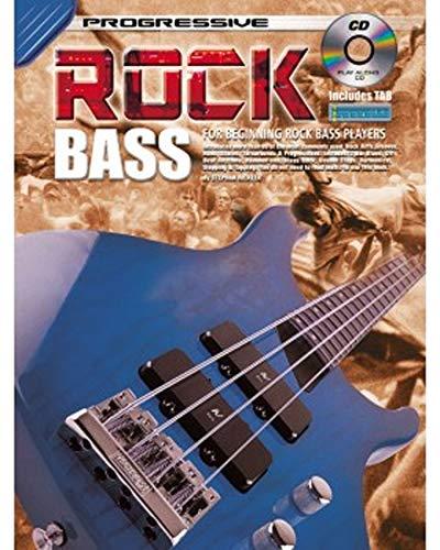 Aprende a jugar - Rock Bass Guitar - Eléctrica - Tutor de música Enséñate a ti mismo Lecciones Principiante - Libro y CD - G8
