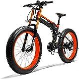 Bicicleta eléctrica Bicicleta eléctrica por la mon 26' Frenos batería de litio de la montaña de bicicleta eléctrica de 36V 250W 6AH Ocultos Batería Diseño 35 millas de gama y de doble disco de aleació