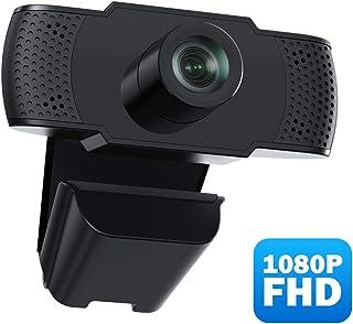 usogood Cámara Web 1080P Webcam con Micrófono Computadora Portátil PC Webcam de Escritorio USB 2.0 para Videollamadas Estudios Conferencias Grabación Juegos con Clip Giratorio
