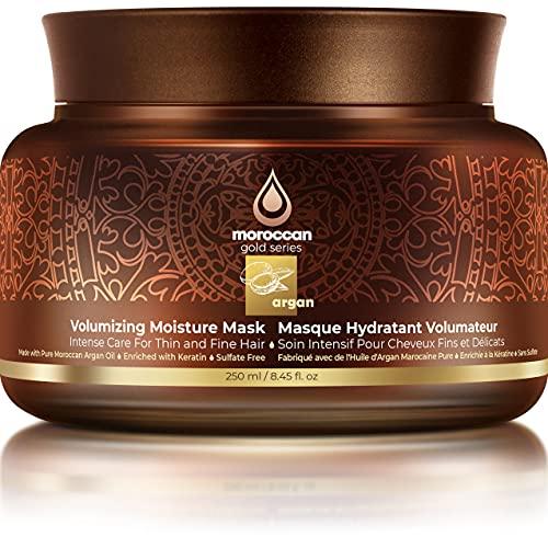 Moroccan Gold Series Argan Masque hydratant volumisant 250 ml