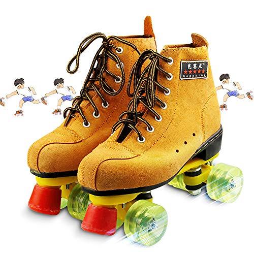 Soft Boot Quad Rolschaatsen, Classic Quad Artistiek Rolschaatsen Voor Volwassenenonderwijs & Jeugd Voor Binnen En Buiten, All-Around Roller Rink Skate,44
