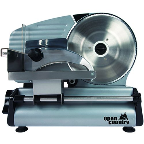 Open Country 180W Food Slicer, 8', Silver