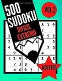 500 Sudoku dificil extremo adultos Vol.2: Libro Sudoku para adultos   500 Sudoku experto - 9x9 con soluciones -   Juego Sudoku muy dificil   Libro de ... ( 21.59  x27.94 cm ) (BMA Sudoku Experto)