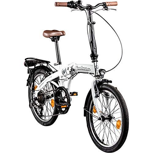 Galano Vélo Pliable Parklane, 6Vitesses...