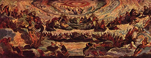 Home Comforts Tintoretto, Jacopo - Paradise Vivid Imagery Laminated Poster Print 24 x 36