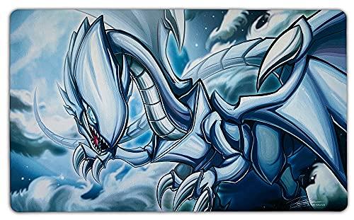 YU-GI-OH! Blauäugiger weißer Drache Spielmatte / Custom Playmat & Arkero-G 50 Small Soft Sleeves