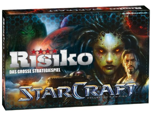 Risiko Star Craft Collector's Edition - Das berühmte Brettspiel trifft auf das meistverkaufteste Echtzeit-Strategiespiel