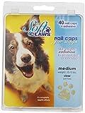 Soft Claws Hunde-Weiche Krallen Hunde und Katzen Nail Kappen Take Home Kit, mittel, Natur