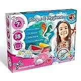 Science4you-Laboratorio de Jabones y Higiene – Juegos y Juguetes Cientifico, 7 Experimentos y Libro Educativo en 5 Lenguas, Un Regalo Ideal para Niños +8 Años