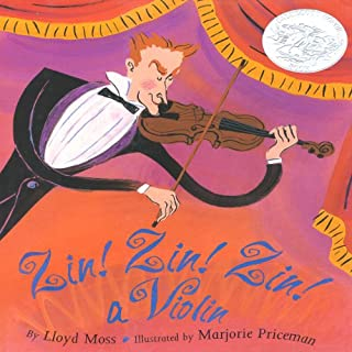 Zin! Zin! Zin! A Violin audiobook cover art